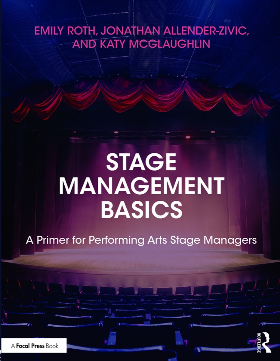 The cover of Stage Management Basics: A Primer for Performing Arts Stage Managers
