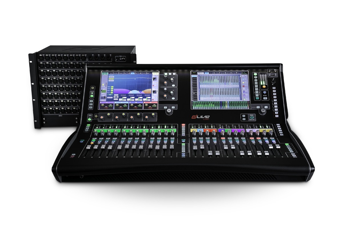 Compact dLive C Class Digital Mixers introduced by Allen & Heath