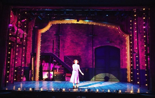 Gypsy at the Cape Playhouse was a lighting design by Zach Blane