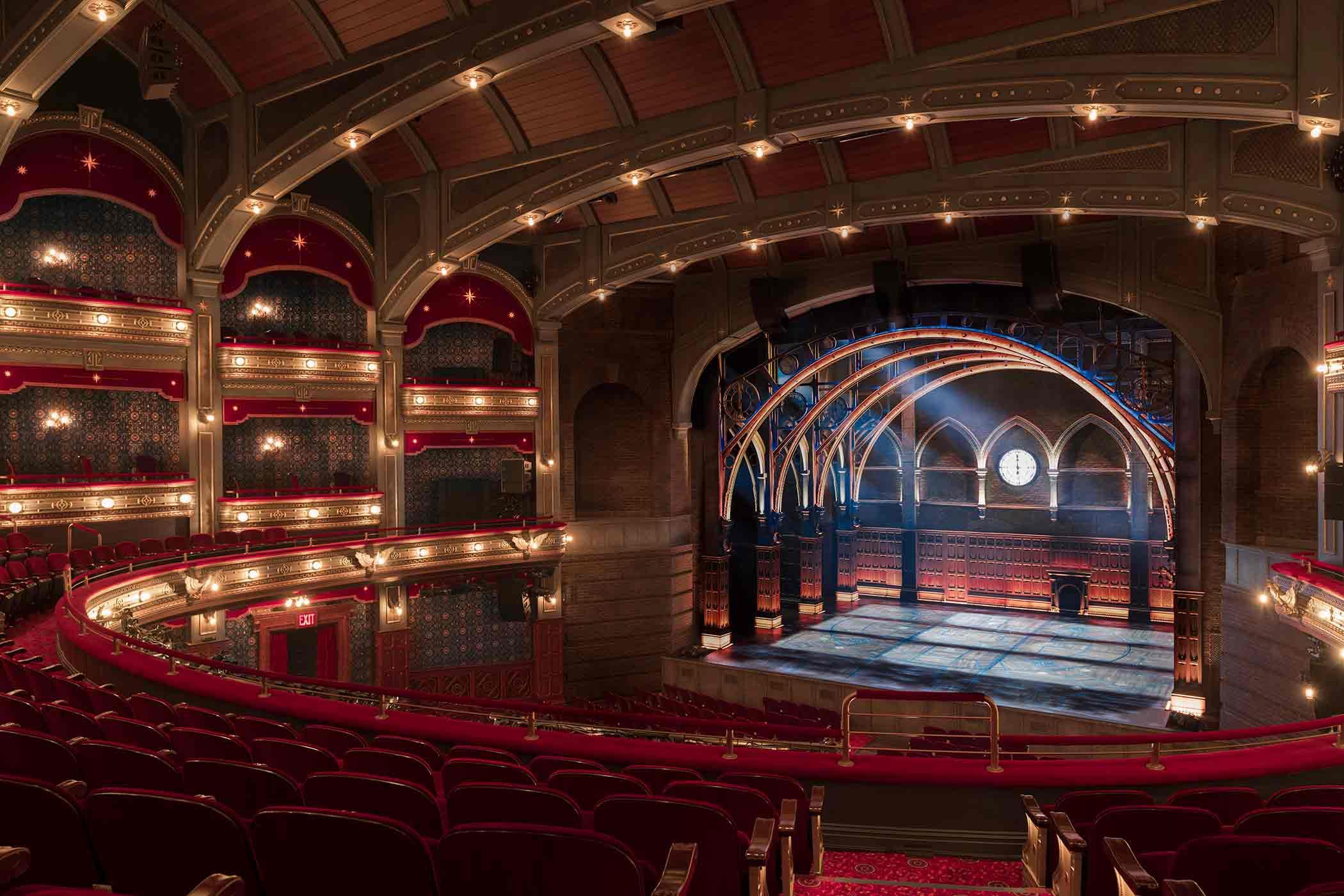 New Interior of the Broadway's Lyric Theatre