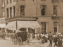 The Elks Hall occupied the first floor of this building, located at 27th Street and Broadway, New York City, and it was here that the first Alliance Convention was held on July 17, 1893.