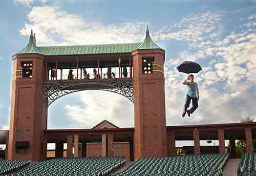 Aerial Choreographer Paul Rubin