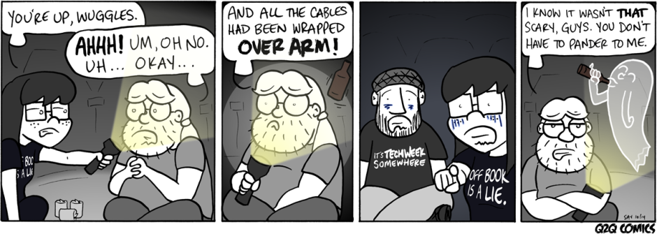 #113: Tales from the Booth, Pt. 3 from Q2Q Comics