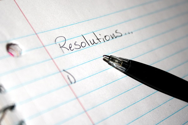 It is that time, time to make your resolutions for the New Year
