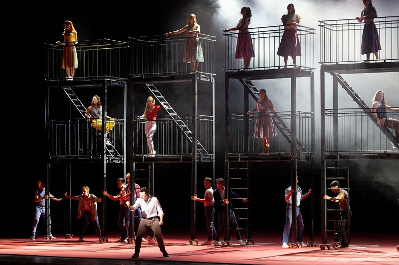 West Side Story performed at the Teatro del Maggio Musicale Fiorentino
