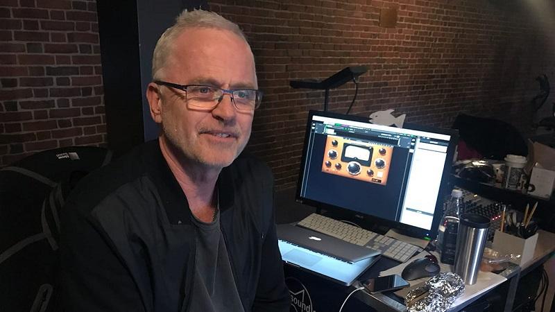 Sound designer Jonathan Deans