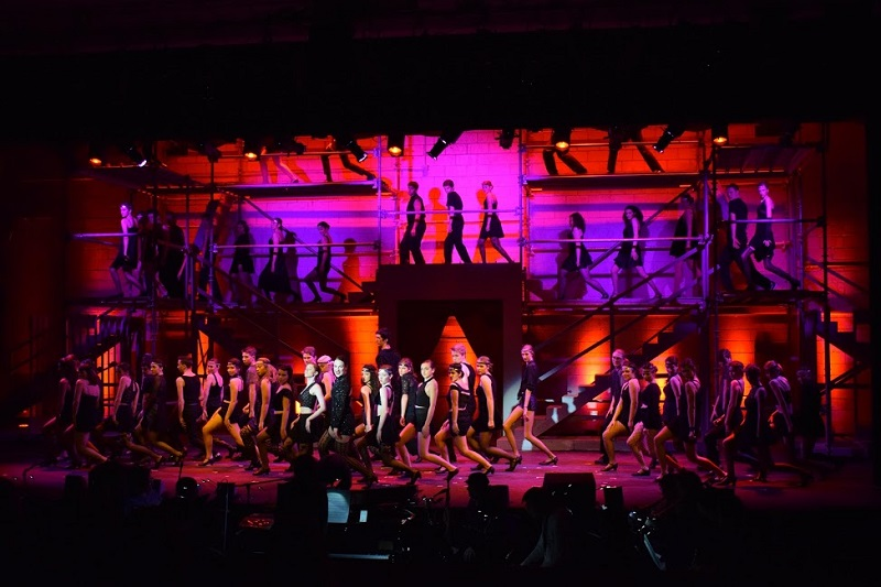 Chicago performed at Dover-Sherborn Regional HS Theater and lit with lights from CHAUVET