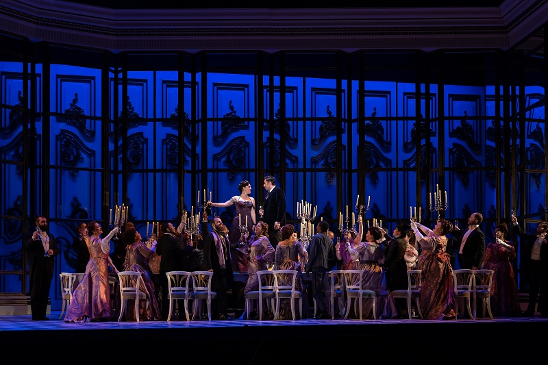 A scene from La Traviata when it was performed at the Washington National Opera. Photo by Scott Suchman for Washington National Opera