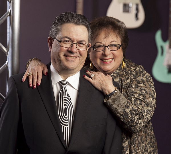 Jonathan Lipp, Full Compass Founder and CEO, and Susan Lipp, Full Compass Chairman of the Board