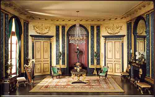 Thorne Room: French Anteroom of the Empire Period, c. 1810 (photo: Art Institue of Chicago)