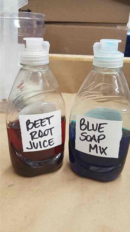 Two Bottles To Mix
