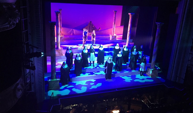 New LED lighting from High End Systems and ETC luminaires for two ATG theaters in the UK. Photography by Simon Darke; Mark Waters