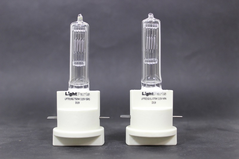 The new LP7021 and LP7019 lamps for Strand Leko Lites from LiteParts