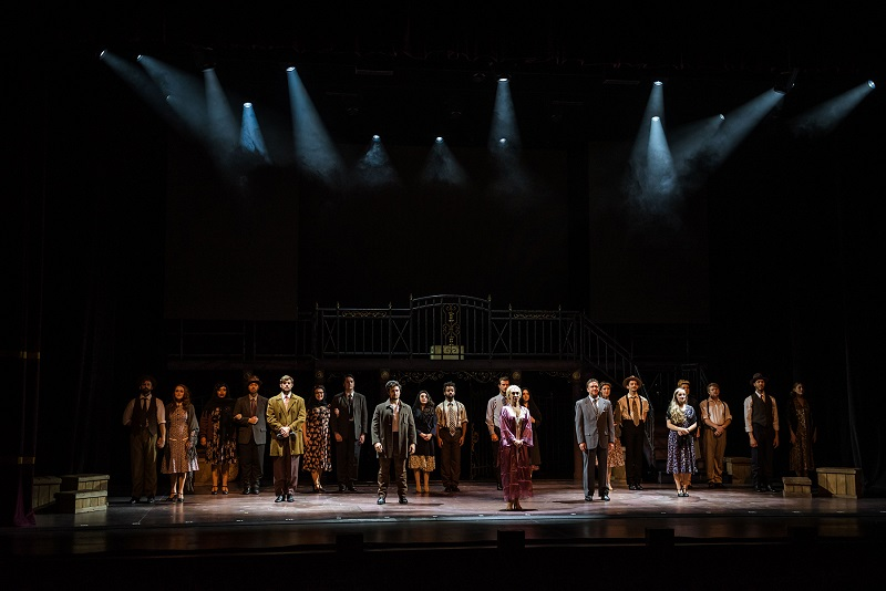 The US touring production of Evita, with lighting design by Chad Bonaker. The tour is being produced by Plan B Entertainment. Photo by © Plan B Entertainment - Will Page Photography