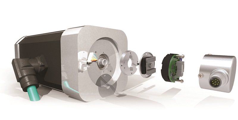 The new magnetic Kit Encoders from POSITAL boost the performance level in low-cost stepper motors
