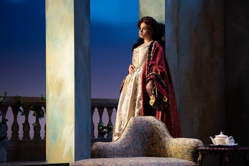 LD Chris Wood lit The Marriage of Figaro at the Utah Festival Opera & Musical Theatre. Photos by Waldron Creative