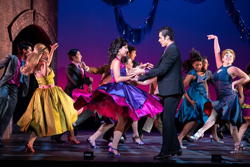 LD Chris Wood lit West Side Story at the Utah Festival Opera & Musical Theatre. Photos by Waldron Creative