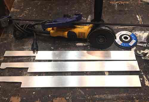 aluminum flat stock blades