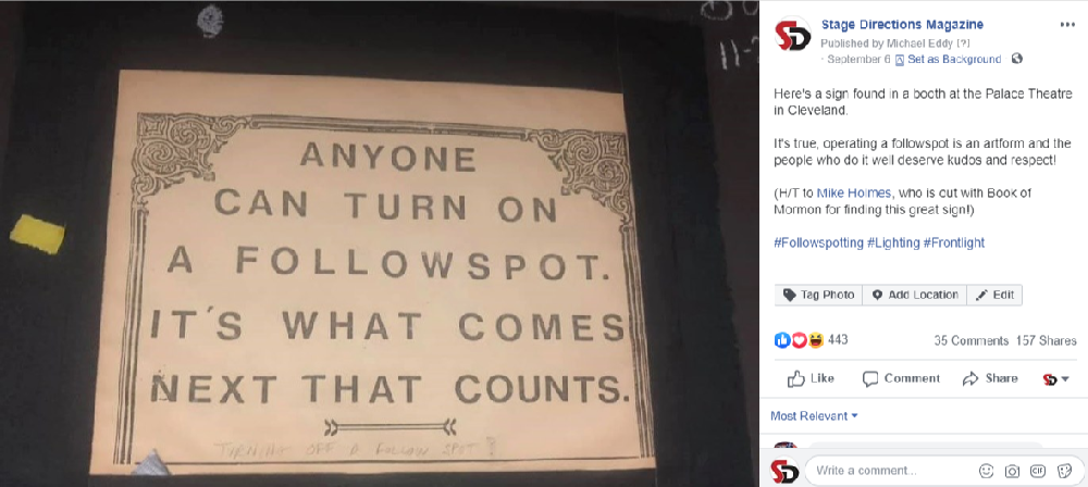 Social Buzz Anyone Can Turn on a Followspot