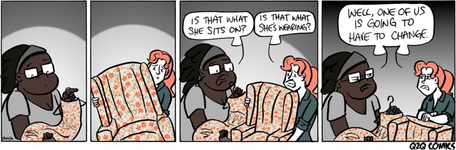 Q2Q Comics #292: FLORAL CONVERGENCE