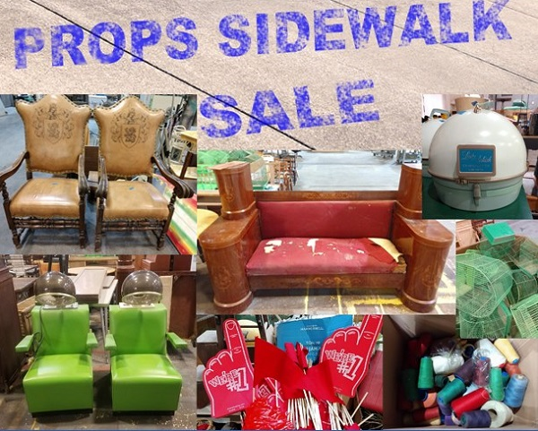 Dallas Theater Center is Holding a Props Sidewalk Sale