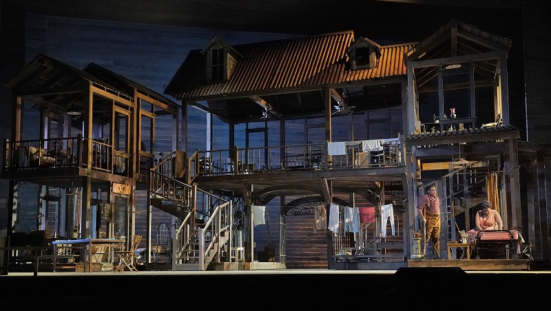 A scene from Porgy and Bess at The Met Opera. Photo by Ken Howard