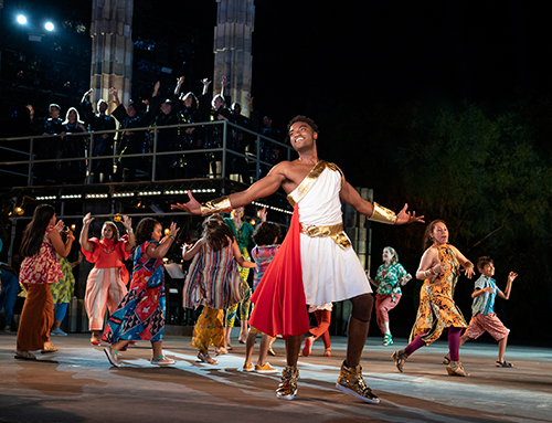 2019 Public Works production of Hercules (Photo: Joan Marcus)