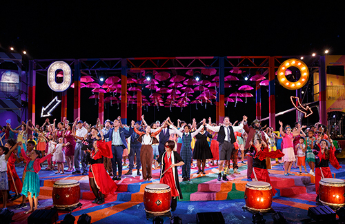 Public Works production of Twelfth Night at the Delacorte Theater in Central Park (Photo: Joan Marcus)
