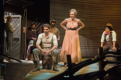 Oklahoma! at the Oregon Shakespeare Festival (Photo:Jenny Graham)