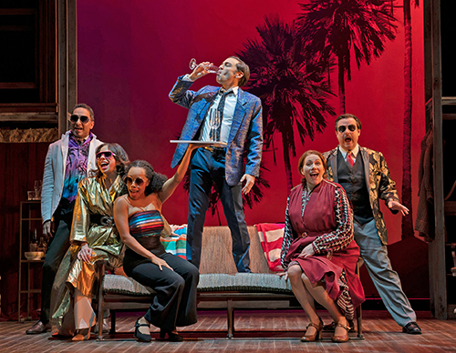The Roundabout Theatres Merrily We Roll Along (Photo: Joan Marcus)