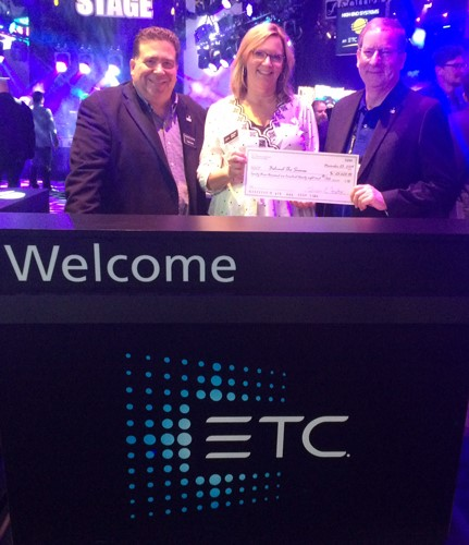 BTS Board Members Tobin Neis (l) and Rick Rudolph (r) with ETC Marketing Communications Manager Wendy Orfan.