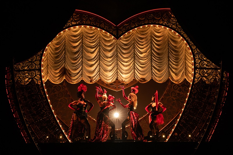 A scene from Moulin Rouge - The Musical.Moulin Rouge! The Musical. Photos © Matthew Murphy 2019