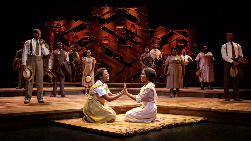 A scene from The Color Purple. Photo Credit: Jeremy Daniel