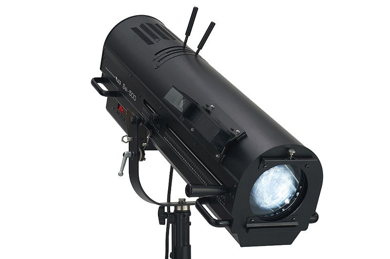 The Sai-500 LED Followspot from Ushio America will be shown at LDI in Booth #1368