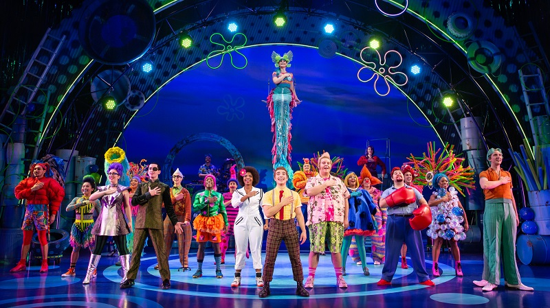 Masque Sound is supporting the national tour of The SpongeBob Musical. Photo Credit Jeremy Daniel