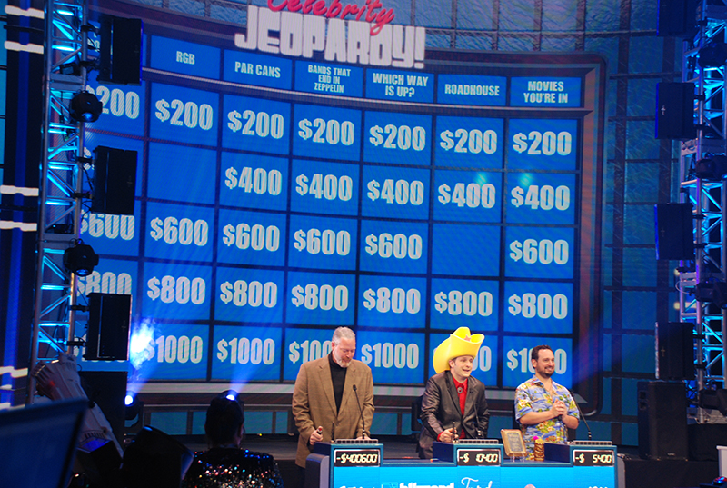 Blizzard played Celebrity Jeopardy in their LDI booth