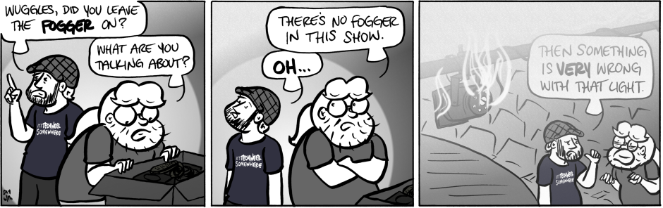 Q2Q Comics #310: ATMOSPHERIC EFFECTS ON THE FLY