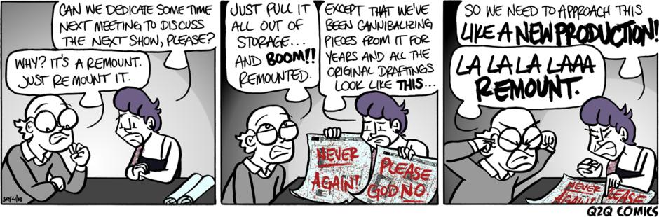 Q2Q Comics #466: REMOUNT!