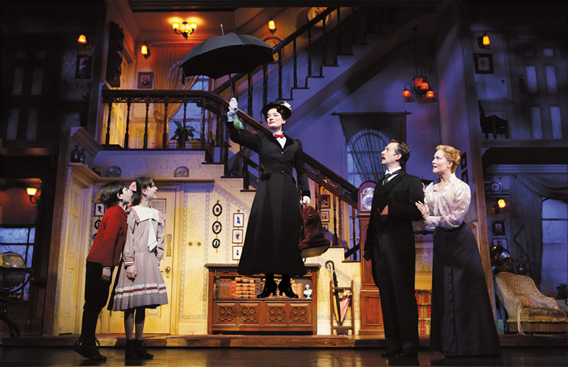 Flying by Foy created the magic of flying for Mary Poppins on Broadway …
