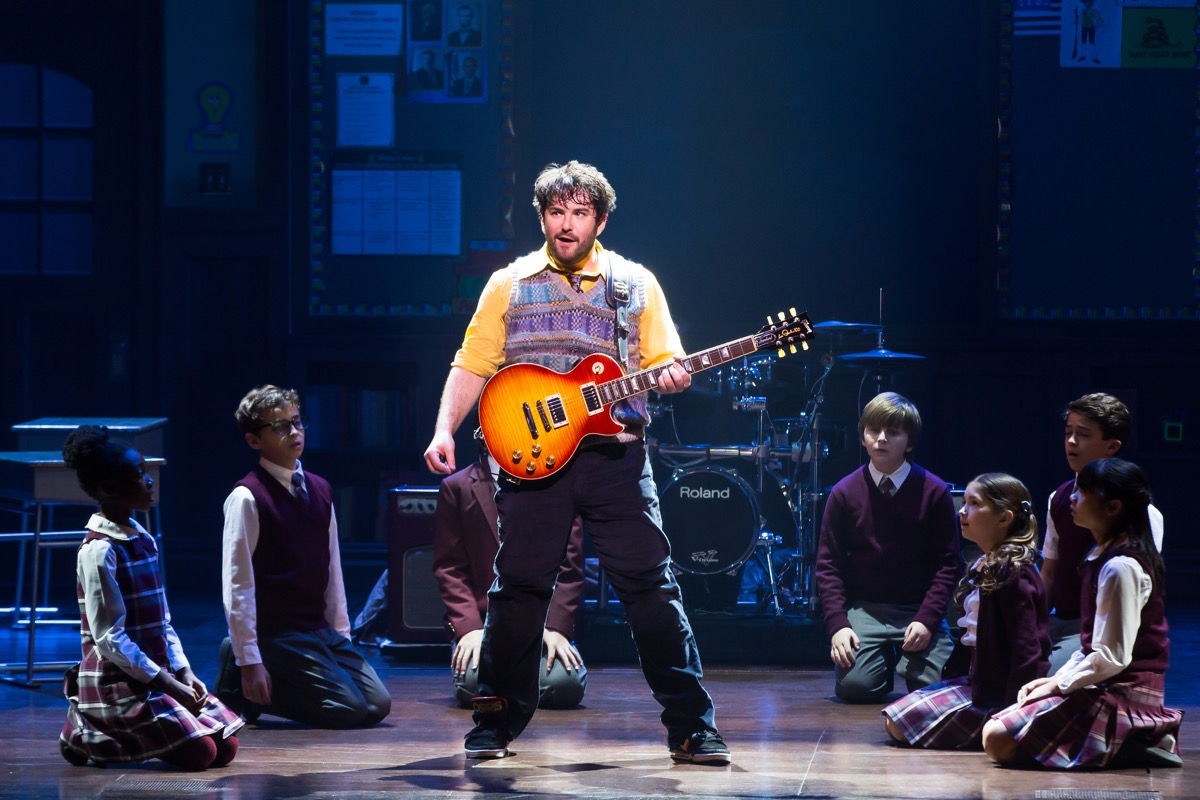 Alex Brightman, star of School of Rock, emceed the Shubert Foundation High School Theatre Festival