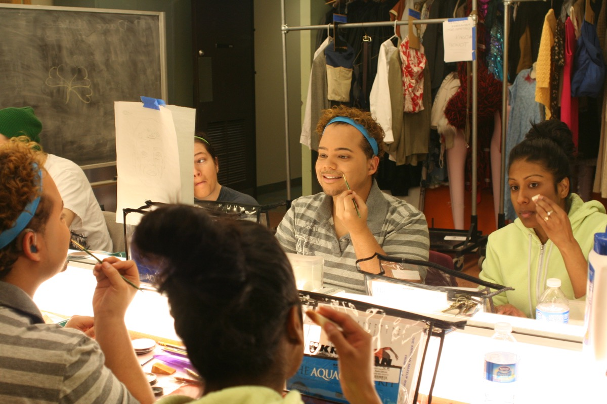 Actors are expected to supply—and know how to apply—their own basic makeup.