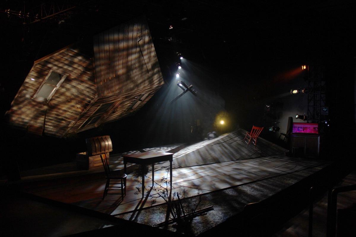 El Paso Blue at GALA Hispanic Theatre. Directed by José Carrasquillo. Set Design by Regina García. Lighting Design by Christopher Annas-Lee. Costume Design by Robert Croghan. Sound Design by Neil McFadden.