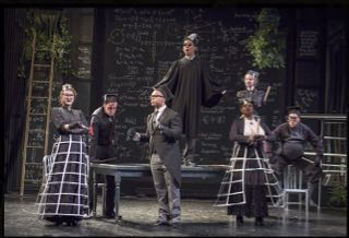 Spring Awakening at American Academy of Dramatic Art, NY. Director: Barbara Rubin. Set Design: CJ Howard. Costume Design: Asa Benally. Lighting Design: Michael O'Connor.