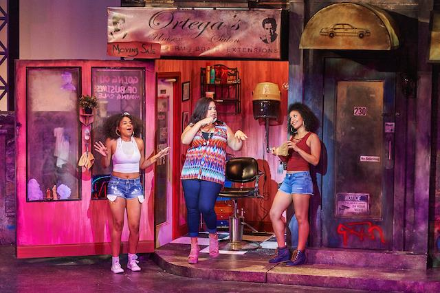 In The Heights at Aurora Theatre in Lawrenceville, GA. Photo by Chris Bartelski.