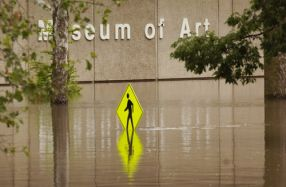 The flooding of the Museum of Art at the University of Iowa