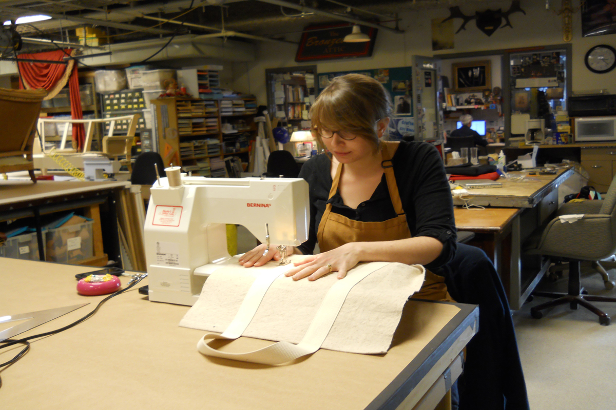 Sarah Kirkham, props craft artisan