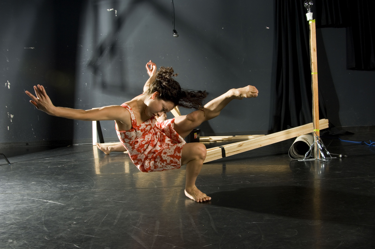 A moment from Construct, the final project by the late Australian choreographer Tanja Liedtke