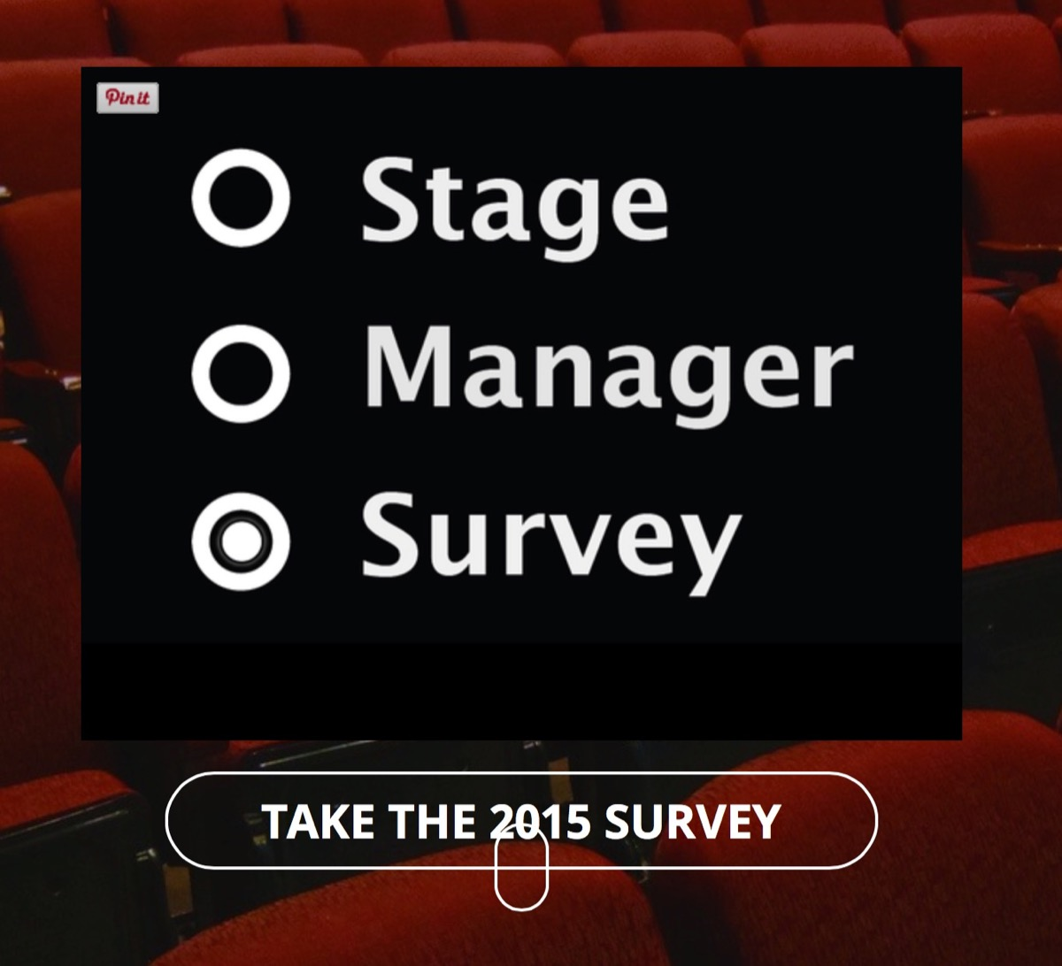 The home page of the SM Survey
