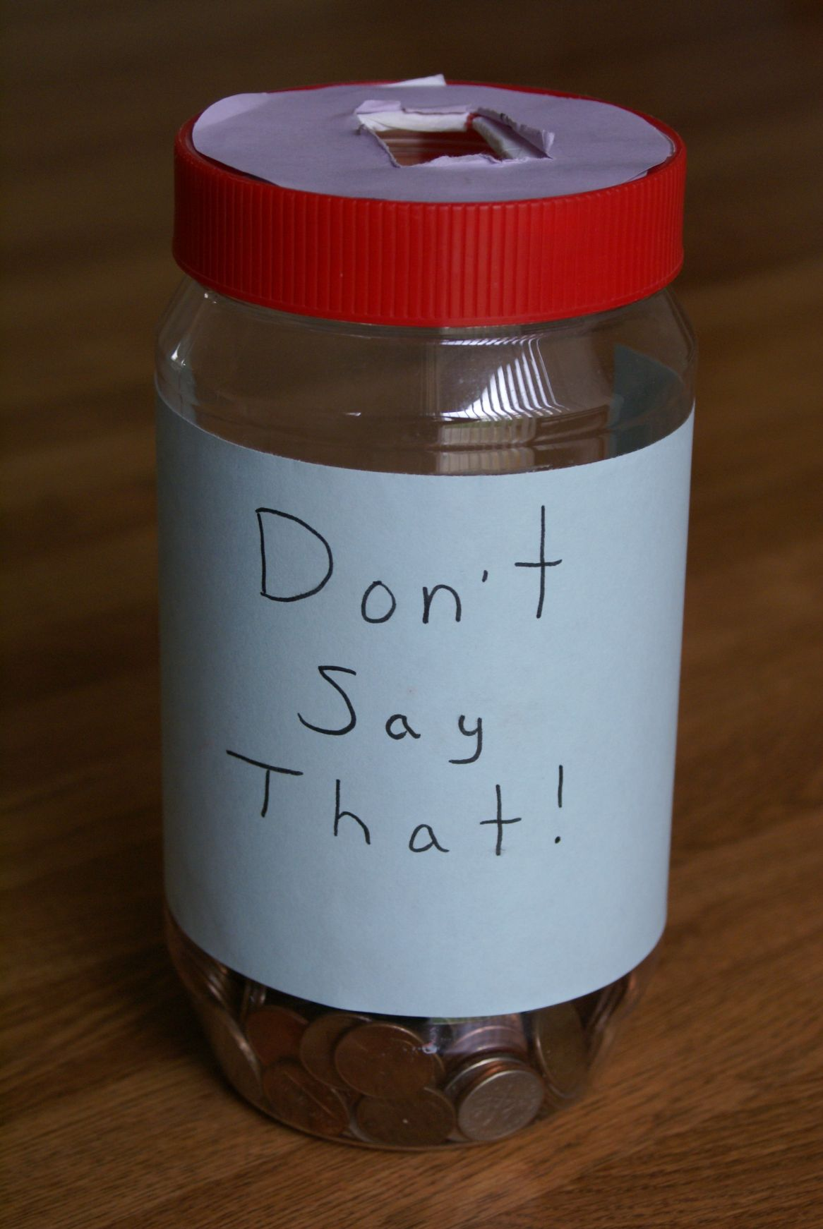 Don't Say That Jar [Photo by jppi]