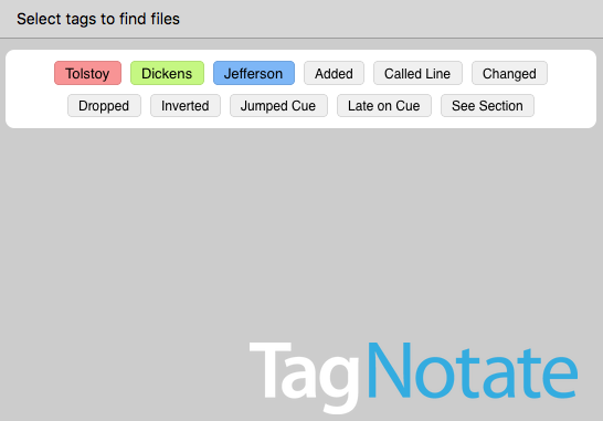 TagNotate: The best SM app not invented by a stage manager